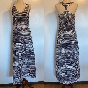 CALVIN KLEIN patterned maxi dress